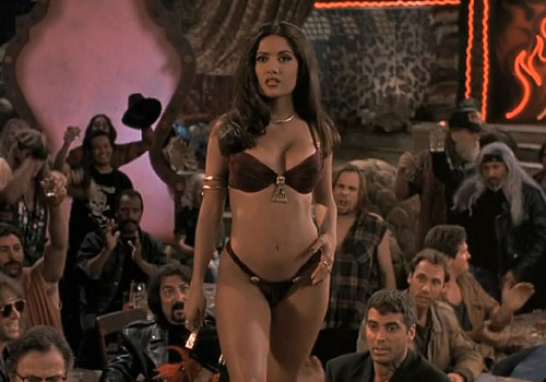 Lap Up Your Blood Dance Anyone Curvaceous Salma Hayek