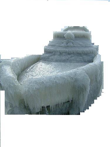 DEAD RINGER for Ark found frozen in Antarctic ice 3 years ago.