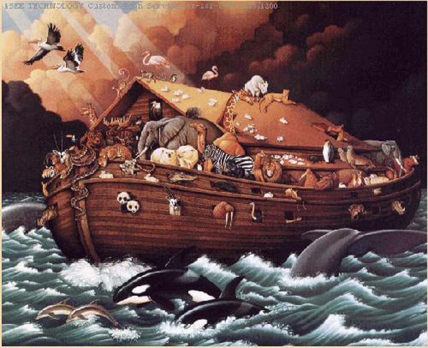 an analysis of the origin of noahs flood in the bible Noah and the flood term papers, gilgamesh vs noah and the flood in both the epic of gilgamesh and the bible, a flood takes and some of the same history.