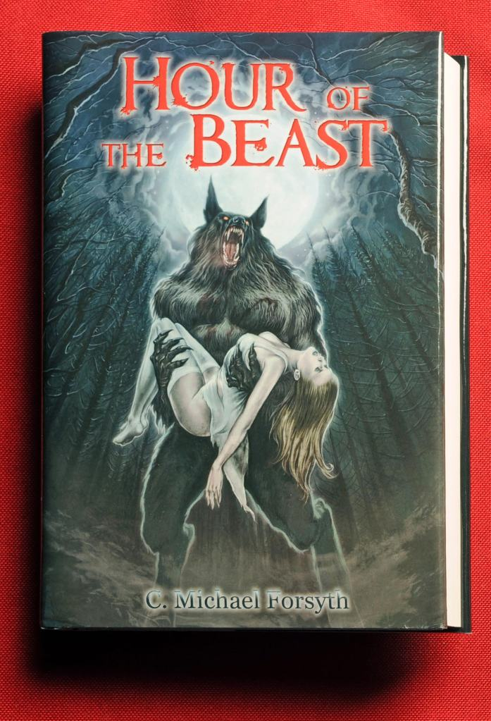 Speaking of Halloween, what could be a better gift for the holiday than the acclaimed horror novel Hour of the Beast, penned by the  author of this article. Order HERE by October 31 and you'll receive a free T-shirt featuring the awesome art! acclaimed novel Hour of The Beast