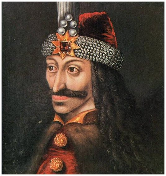 BLOODTHIRSTY 15th century warlord Vlad the Impaler.