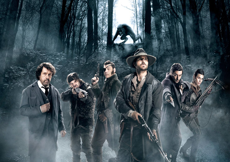 "The Magnificent Seven Vs  Wolf Man in ""Werewolf: The Beast"