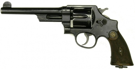 CLASSIC Smith and Wesson has been a favorite of police around the world for decades.