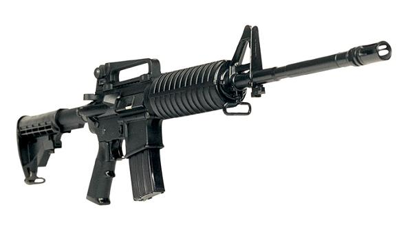 POPULAR AR-15 assault rifle could come in handy in final war between Good and Evil.