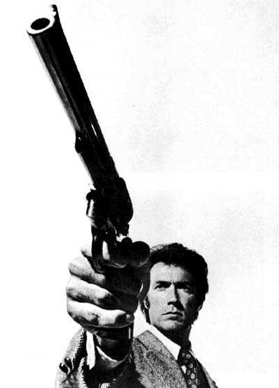 "MAKE MY DAY: Clint Eastwood sported a .44 Magnum in ""Sudden Impact."""