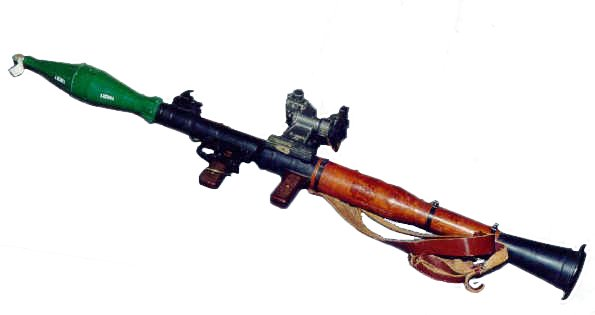 KAPOW! RPG rocket-propelled grenade launcher could blow the Antichrist's tanks to smithereens