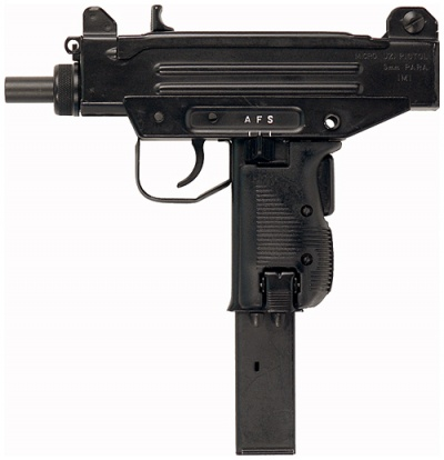 SAY hello to His little friend. Compact Uzi sub-machine gun could easily be hidden in Christ's robes.