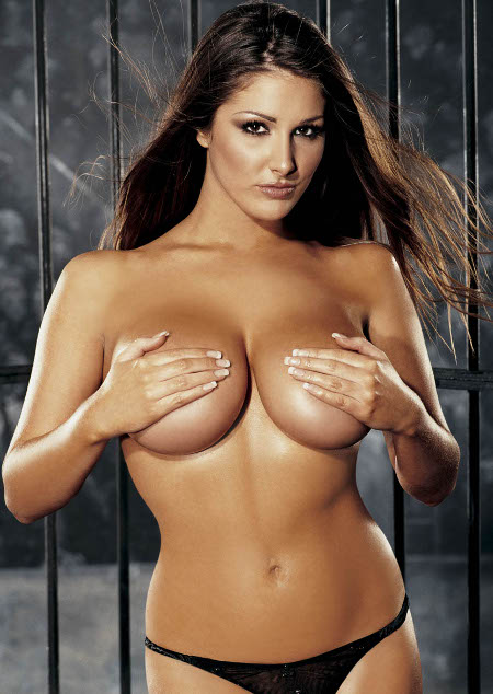 ASSETS UNDERUTILIZED:  Lucy Pinder appears but, tragically NOT as a stripper.