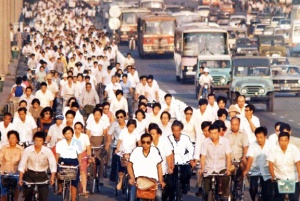 OLD DAYS: In years past, individualism was not prized in China.
