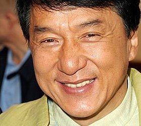 The familiar mug of beloved star Jackie Chan was a popular look in the past.