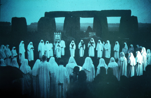 FORBIDDEN rites that predate the Druids took place in Northern Wales.