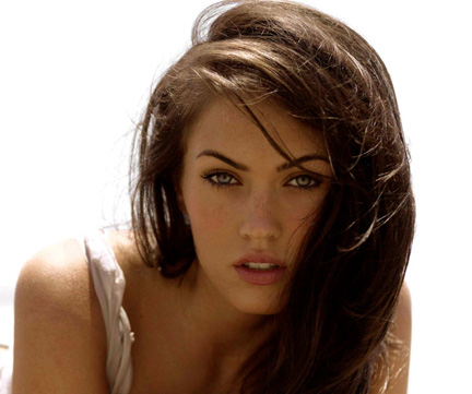 THREE'S COMPANY? Most men would love to have a girlfriend like scorching hot starlet Megan Fox, who is openly bisexual.
