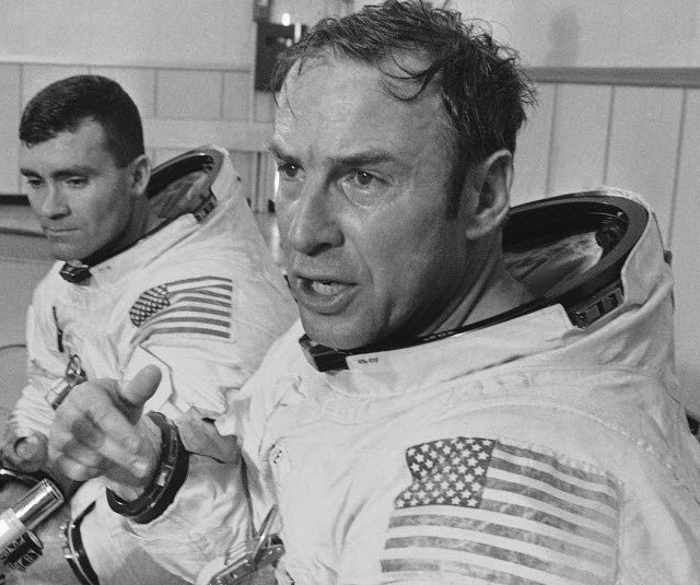 UNLUCKY NUMBER: Astronaut James Lovell was lost in space aboard Apollo 13.