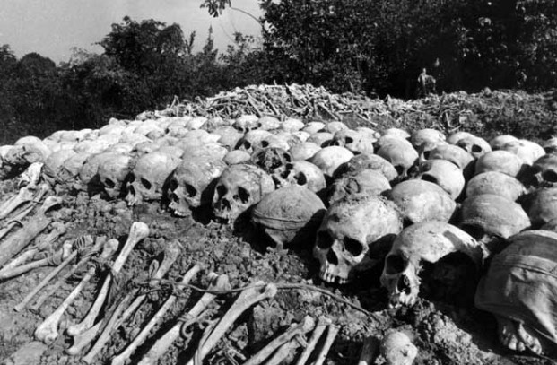 THE KILLING FIELDS: Millions were slaughtered by Cambodia's Khmer Rouge fanatics.