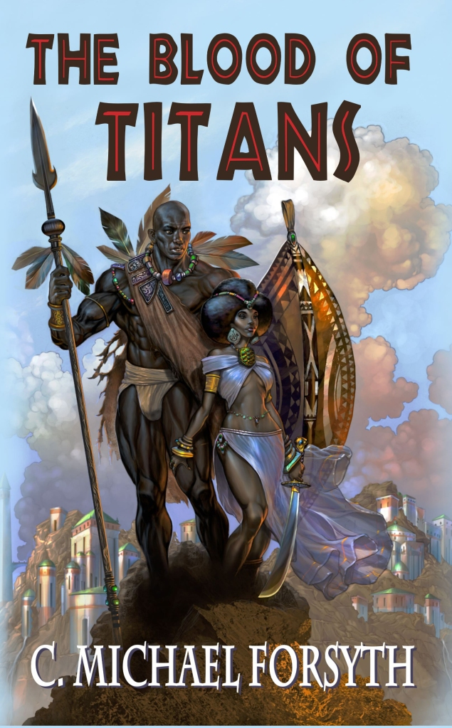 """The Blood of Titans"" is set in the golden age of Africa."