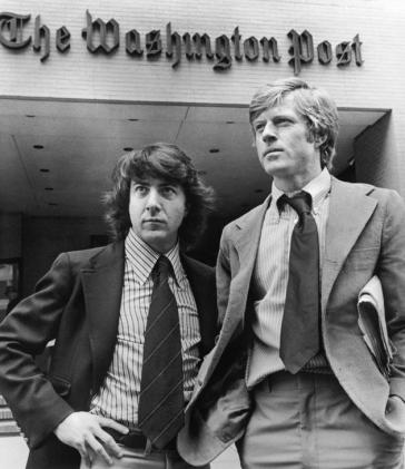 JOURNALISM has gone down hill since the days when Bob Woodward and Carl Berstein broke the Watergate story, media-watchers say.