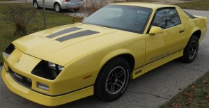 BACK TO THE FUTURE: In the 1980s, the Camaro was the epitome of cool.