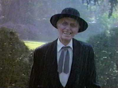 "REVEREND HENRY KANE, played by Julian Beck in ""Poltergeist 2"" (1992). Kane was the leader of 19th century doomsday cult who snuffed out the lives of his followers and became a ghostly Beast who keeps their spirits imprisoned. The character's shockingly gaunt, skeletal appearance isn't just good makeup. Actor Beck was dying of cancer during the shoot. Kane tries every trick in the book to gain entry into the Freeling family's haunted house. In one grotesque scene, he transforms himself into a worm that the dad Steven (Craig T. Nelson) swallows with his tequila. The parasitic entity possesses the guy and tries to rape his wife before being vomited out as a hideous, scuttling monster. Watch these two memorable sequences: A Stranger and Let Me In."