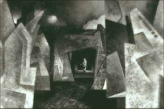 DREAM sequence in movie was inspired by silent-era German expressionist films