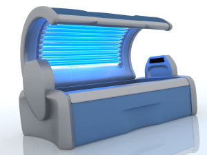 HIGH TECH moon ray beds resemble ordinary tanning beds.