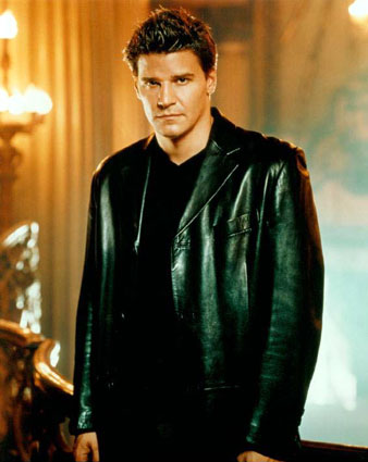 Unlike TV's Angel, portrayed by actor David Boreanaz, most real vampires would be caught undead in black clothing.
