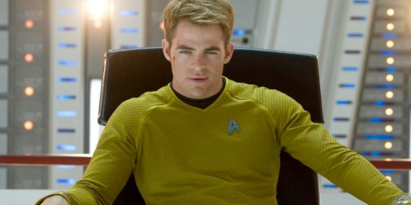 CAPTAIN JAMES T. KIRK, a role of course originated by...