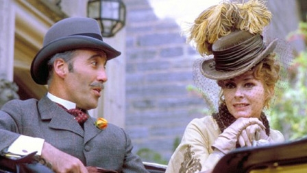 "CHRISTOPHER LEE in ""The Private Life of Sherlock Holmes."""