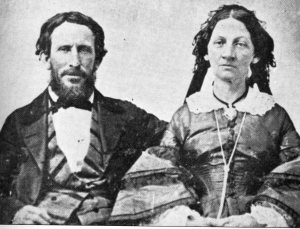 Donner Party members James and Margaret Reed faced a terrible choice when stranded in the mountains.