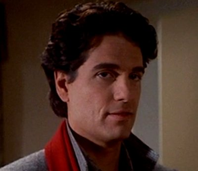 CHRIS SARANDON, who went from evil to good as...