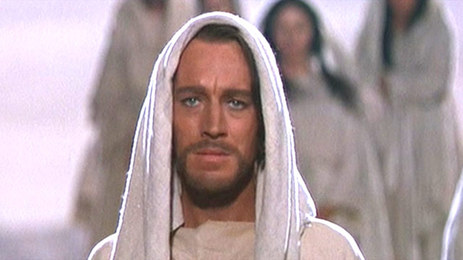 "MAX VON SYDOW in ""The Greatest Story Ever Told."" Max was less nice as James Bond's arch-enemy"