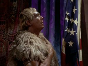 PATRIOTIC: Even after the collapse of civilization, Americans of the future will revere the flag, just like the Yang in the Star Trek episode, ""