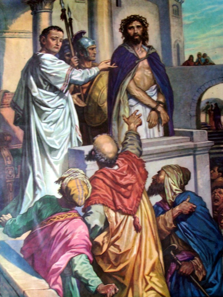 PONTIUS PILATE ordered the execution of Jesus, earning him a prominent spot on the list.