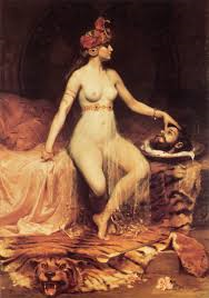 TREACHEROUS:  After her seductive dance, Salome beheaded John the Baptist.