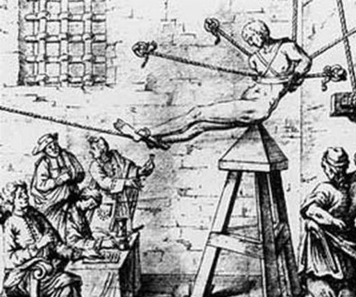 """Colon Expansion,"" formerly known as The Judas Cradle, has been used by practitioners of enhanced interrogation techniques since the Middle Ages."
