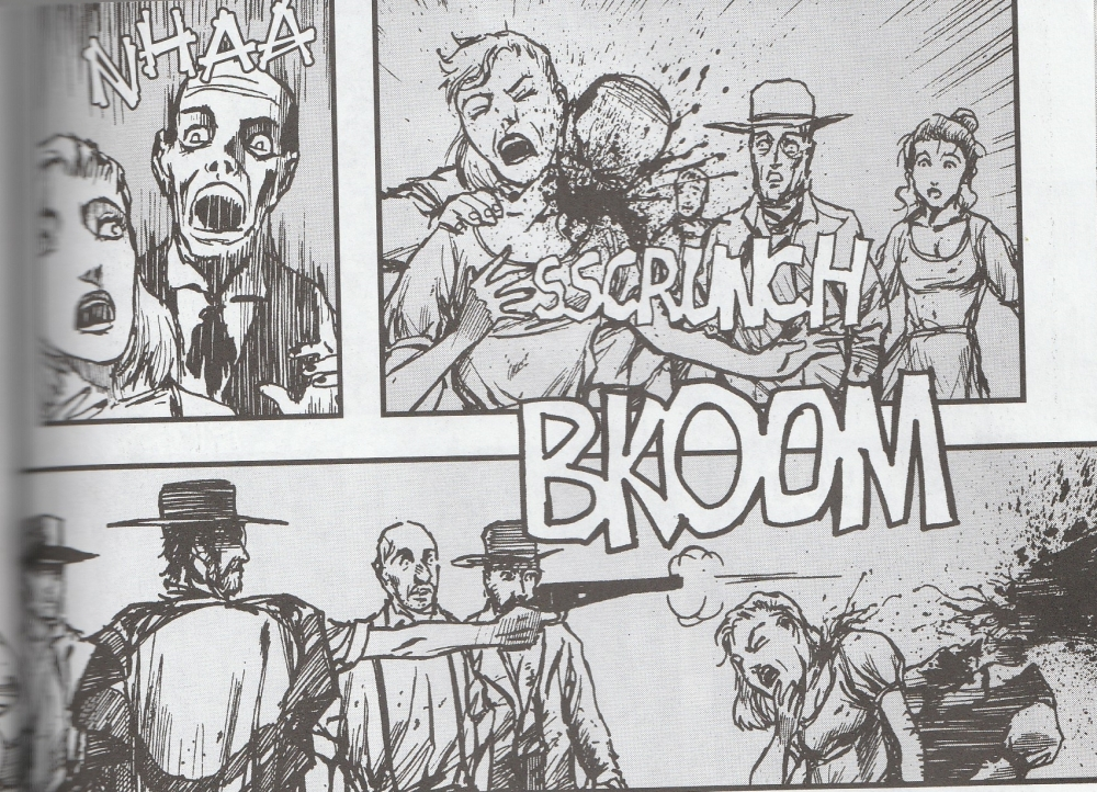 Old West zombies tangle with the wrong dude.