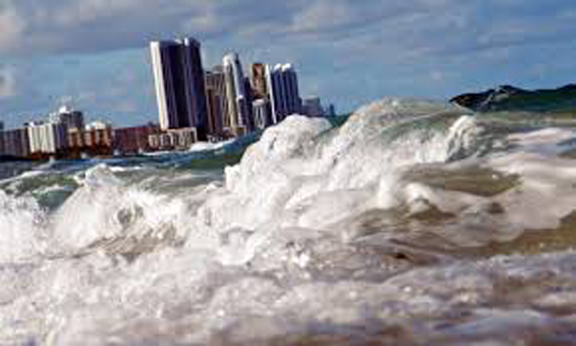 CLIMATE change could soon put much of Florida underwater -- unless white magic licks the problem.