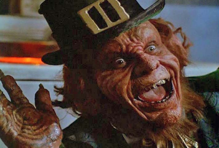 UNLIKE the evil imp who menaces Jennifer Anniston in the 1993 movie, most real leprechauns are reserved and gentlemanly.
