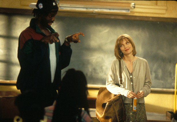 MANY black people are helpless failures until they're rescued by a white savior like the angelic inner-city teacher played by Michelle Pfeiffer in Dangerous Minds.