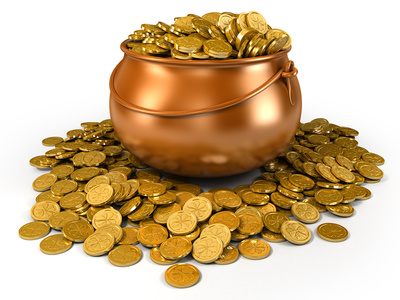 SKEPTICAL of banks, many leprechauns still prefer to store their wealth in containers of gold known as crocks.