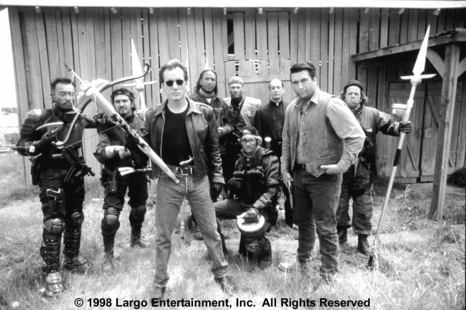 OUT OF A GIG? James Woods led a team of Vatican-sponsored vampire killers in John Carpenter's