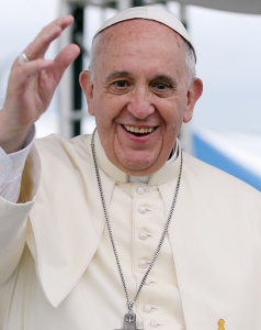 MR. NICE GUY: Pope Francis has ended the wholesale killing of vampires.