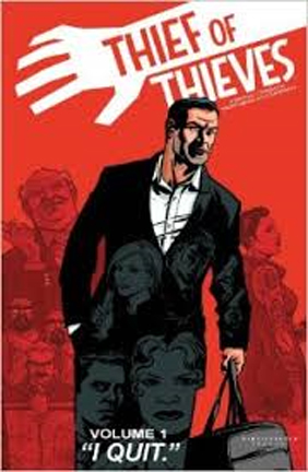 "ZOMBIE master Robert Kirkman's graphic novel  ""Thief of Thieves"" is even better than his ""The Walking Dead."""