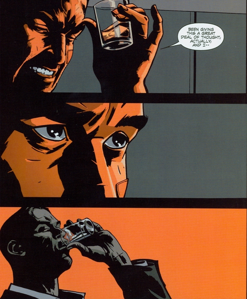 "CINEMATIC panel shape, realistic facial expressions and Kirkman's trademark  timing make ""Thief of Thieves"" feel like a movie."
