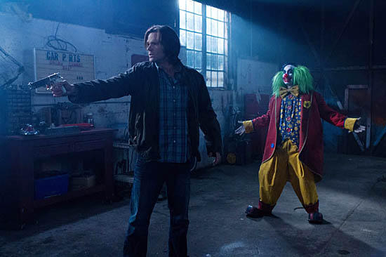 Sam ( Jared Padalecki) and his brother battled their fair share of evil clowns on TV's