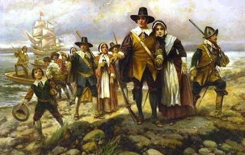 pilgrims-landing
