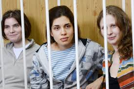 Pussy riot jailed