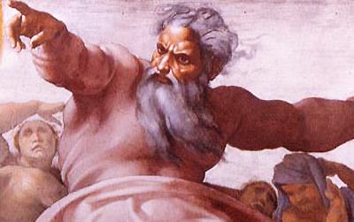 God angry