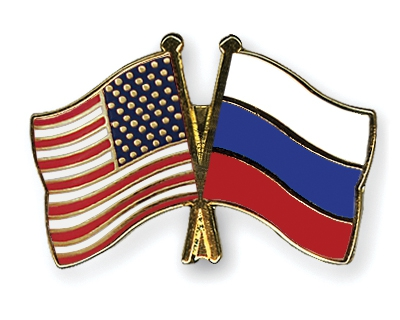 Russian American pin